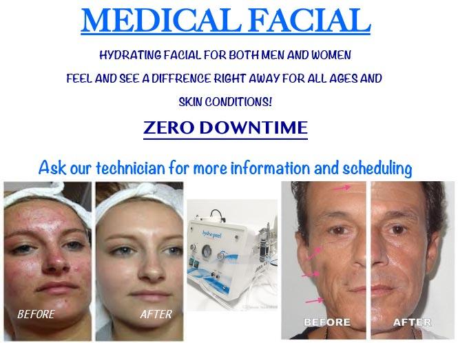 medical facials Jacksonville FL